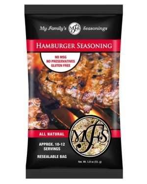 1.8 oz My Family's Hamburger Seasoning