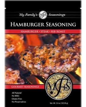 3.6 oz My Family's Hamburger Seasoning