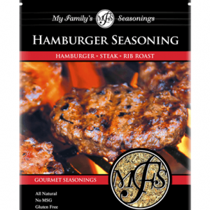 1.8 oz My Family's Hamburger Seasoning