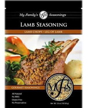 3.6 oz My Family's Lamb Seasoning