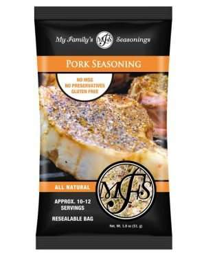 1.8 oz My Family's Pork Seasoning
