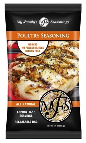 1.8 oz My Family's Poultry Seasoning