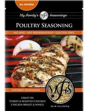 3.6 oz My Family's Poultry Seasoning