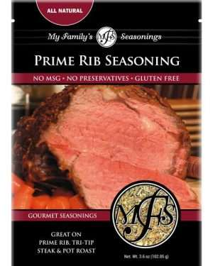 3.6 oz My Family's Prime Rib Seasoning