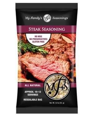 1.8 oz My Family's Steak Seasoning