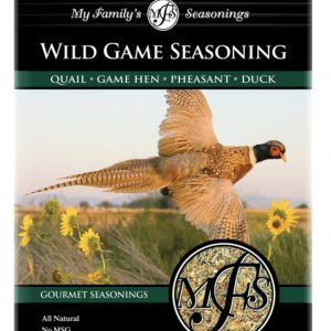3.6 oz My Family's Wild Game Poultry