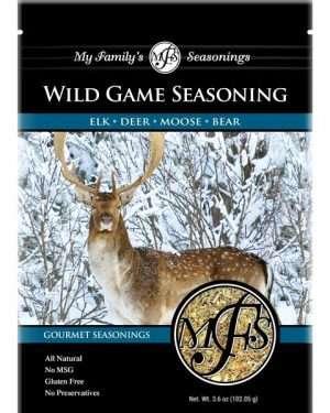 3.6 oz My Family's Wild Game Beef